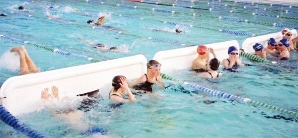 Turnmaster Pro Lane Divider for Pool Resizing