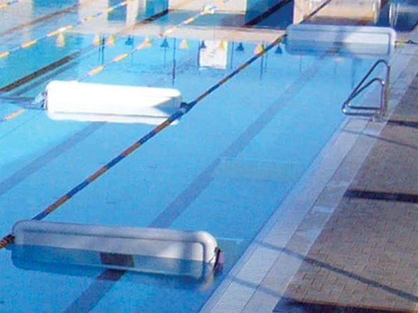 Turnmaster Pro Lane Divider in Pool