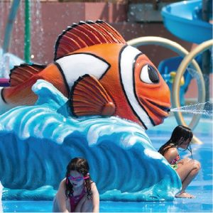 Carl Clown Fish Aqua Slide