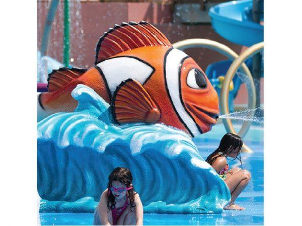 Carl Clown Fish Aqua Slide