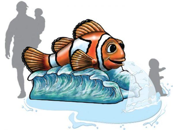Carl Clown Fish Aqua Slide Diagram
