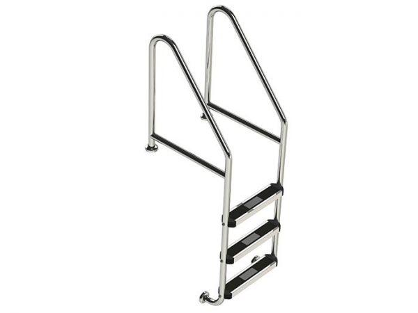 Pool Ladder Commercial SR-CF-3 Flanged Top & Bottom Ladder