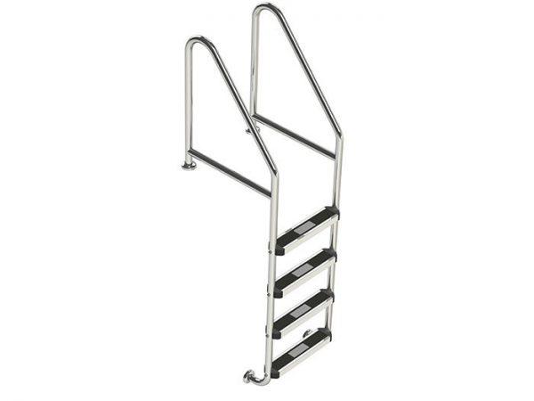 Pool Ladder Commercial SR-CF-4 Flanged Top & Bottom Ladder