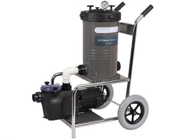 Portable Suction Cleaning Unit with Filter