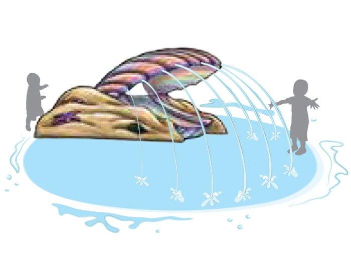 Calvin Clam Aqua Slide | Aquachem