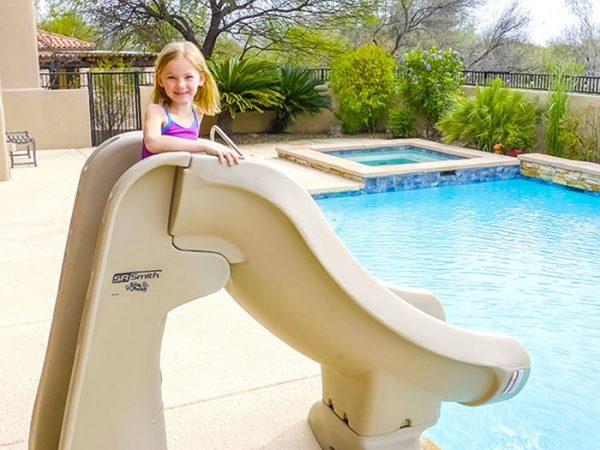 Pool Slide – Slideaway | Aquachem
