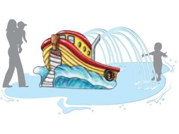 Tommy Tug Boat Aqua Slide | Aquachem
