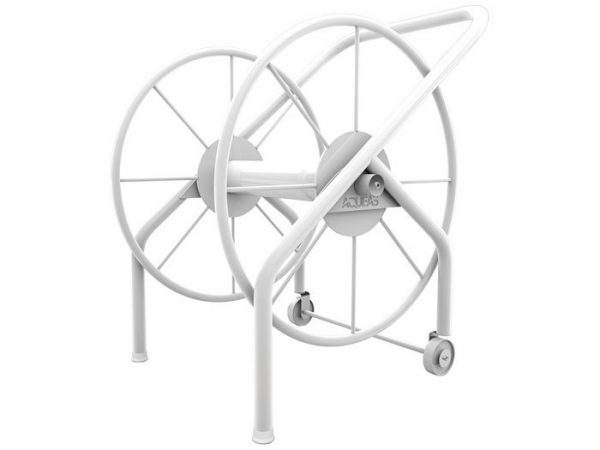 lane rope mini storage reel aqueas - powder coated stainless steel