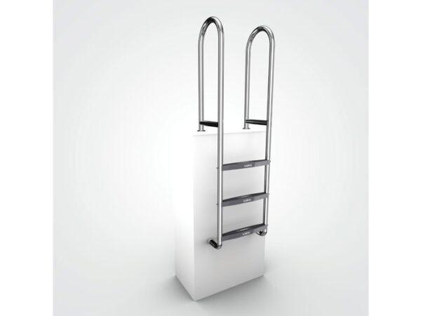 AQUEAS Ladder AQ-LDR04 3 Step - Aquachem