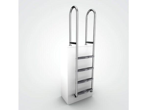 AQUEAS Ladder AQ-LDR04 4 Step - Aquachem