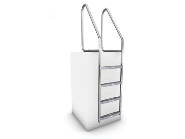 AQUEAS Ladder AQ-LDR08 4 Step - Aquachem