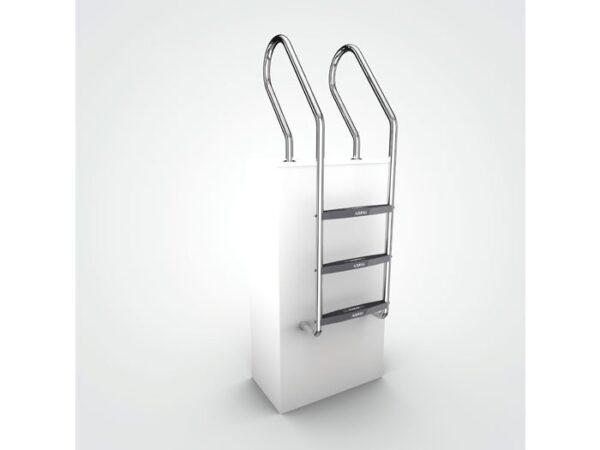 AQUEAS Ladder AQ-LDR11 3 Step - Aquachem