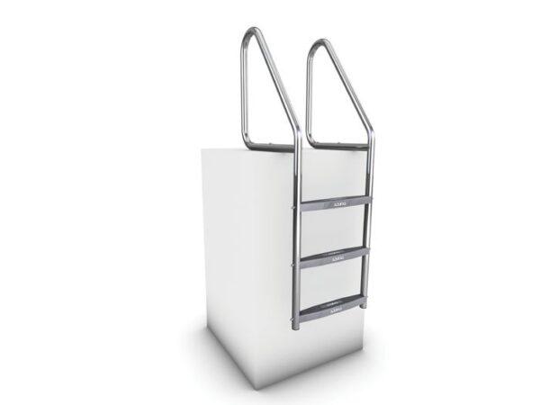 AQUEAS Ladder AQ-LDR12 3 Step PSP700371 - Aquachem
