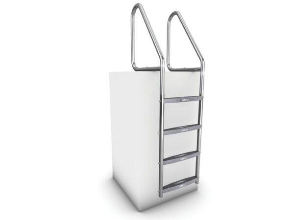 AQUEAS Ladder AQ-LDR12 4 Step PSP700372 - Aquachem