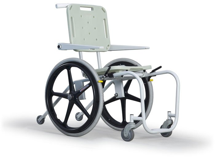 Mobile Aquatic Wheelchair - Stainless Steel - Aquachem