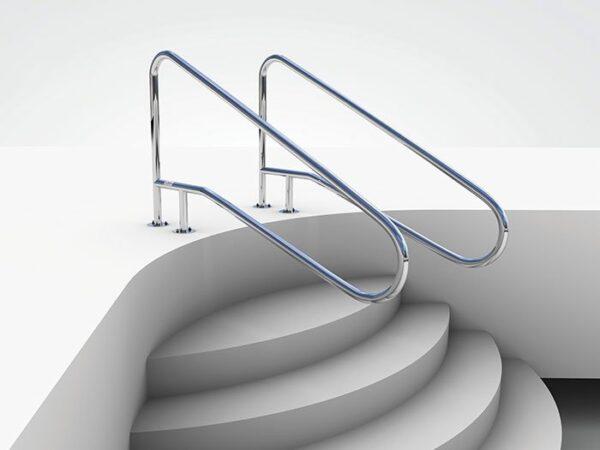AQUEAS Stair Deck Grab Rails AQ-GR09 - Aquachem