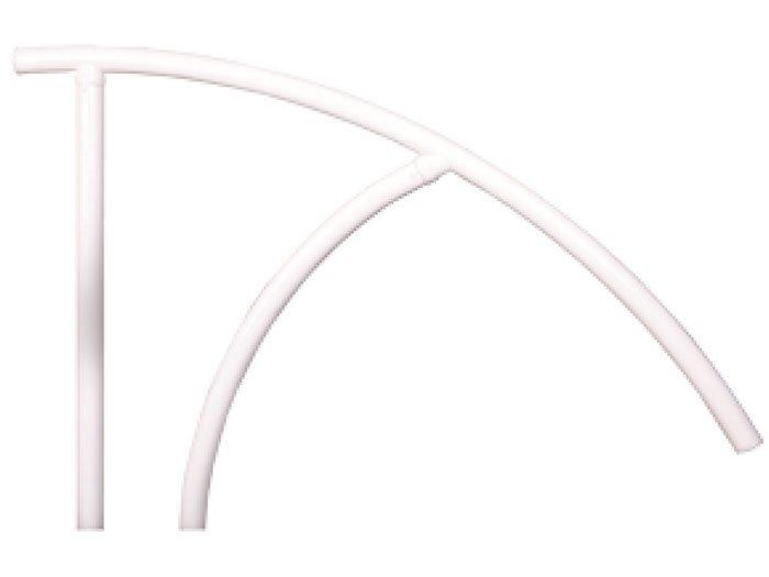 Saftron Hand Rail Triton White - TRTD-144 - Aquachem